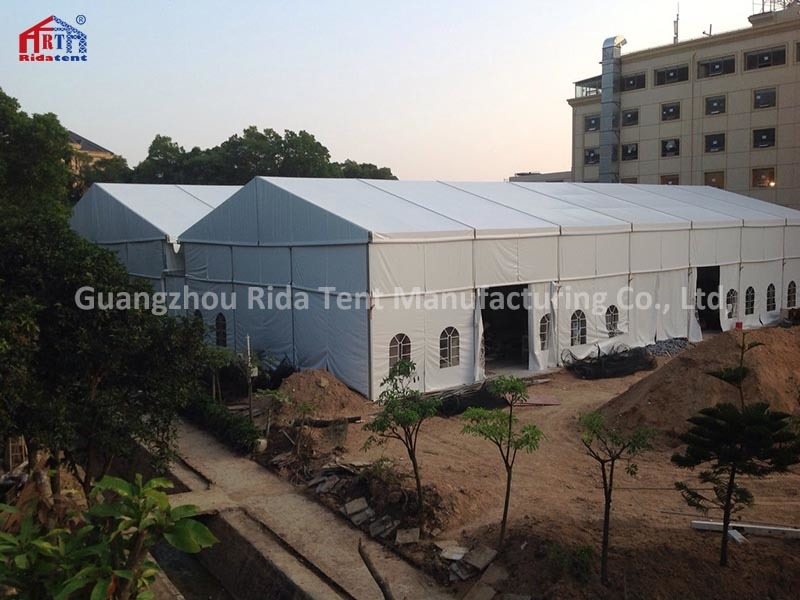 20x35x6m Large White Event Party Marquee Church Tent With Church Windows