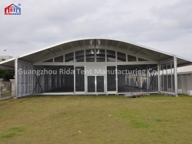 High Quality PVC Cover Outdoor 20 X 40m ABS Hard Sided Marquee Arcum Tent