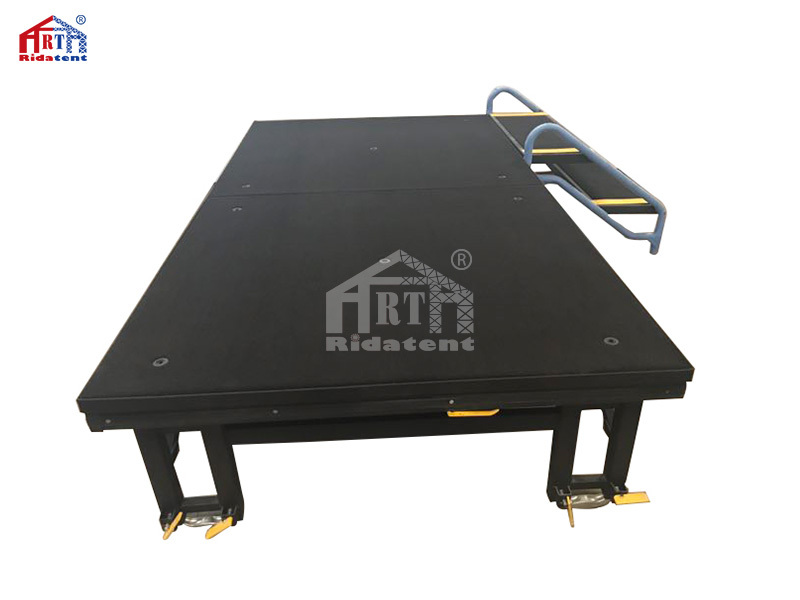 Light Weight In The Outdoor Aluminium Movable Folding Stage
