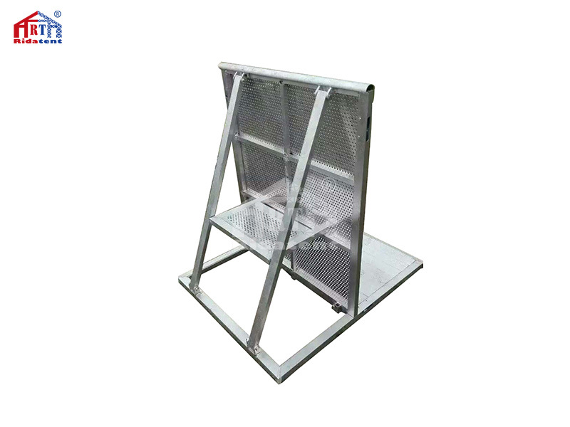 Folding Aluminium Concert Crowd Control Barrier for Sale