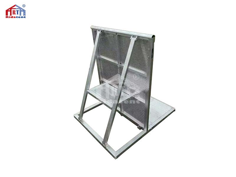 Folding Aluminium Concert Crowd Control Barrier for Sale