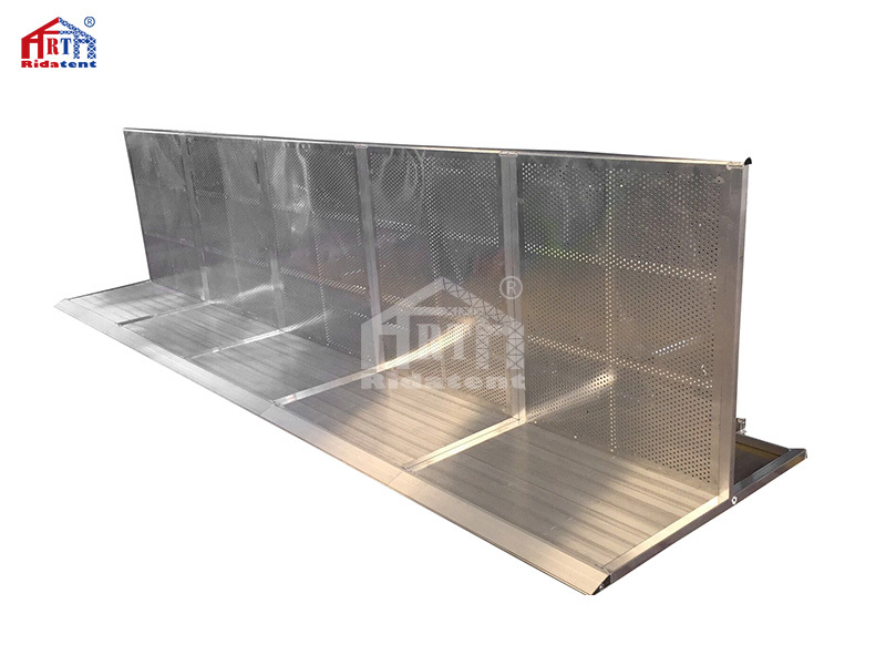 Outdoor Concert Stage Lightweight Aluminum Crowed Safety Barrier