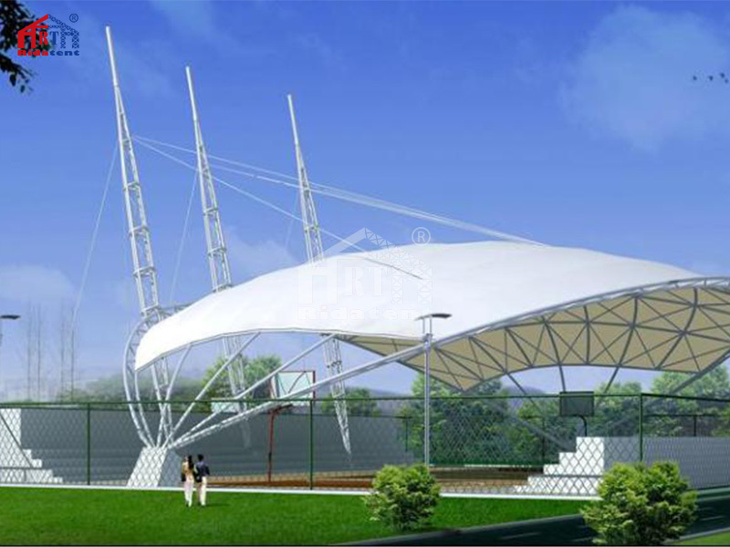 High Quality Cheap Price Architectural PVDF Membrane Structure For Sale