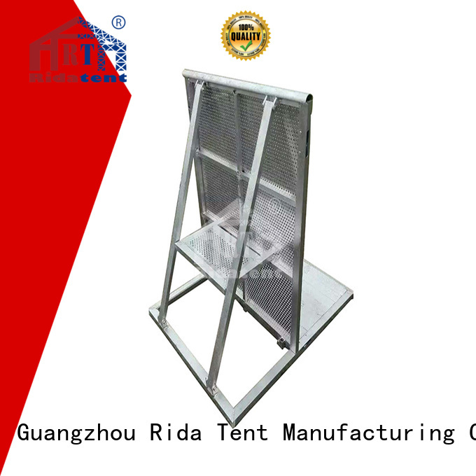 Rida tent safety safety barrier directly sale for festival