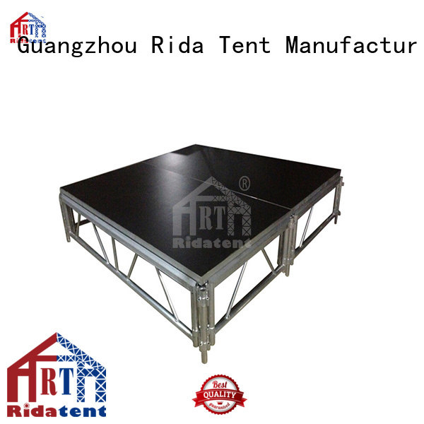 Rida tent wedding stage factory price for concert