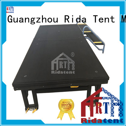 Rida tent small stage manufacturer for outdoor concert