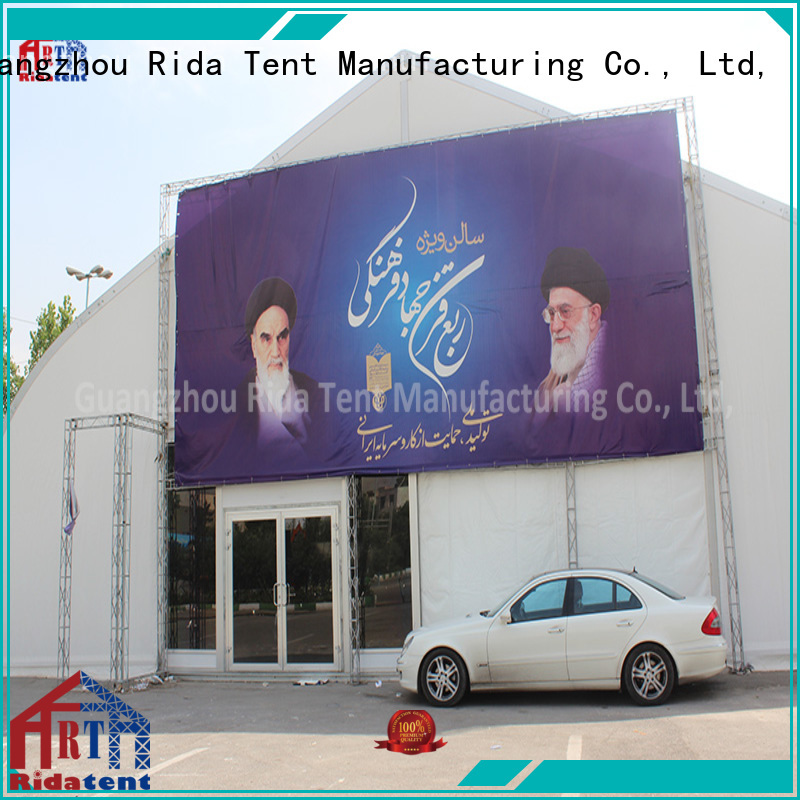 Rida tent stable big tents directly sale for festival