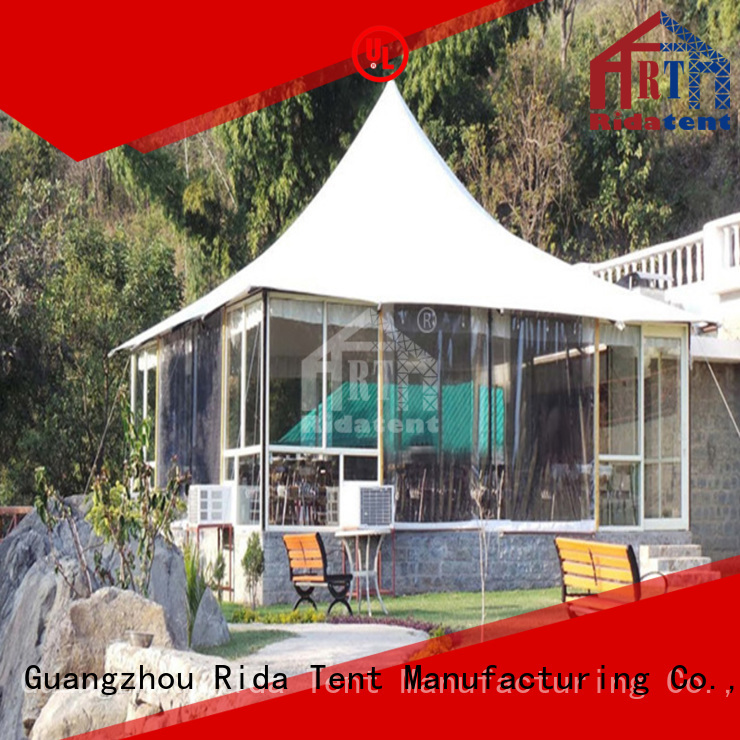 Rida tent high quality tensile structure factory for exhibition