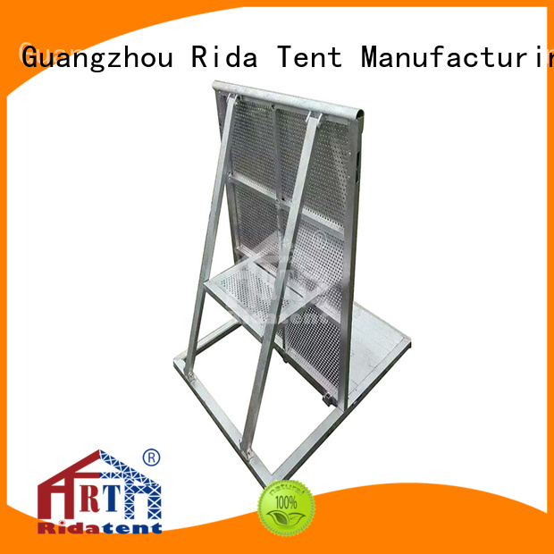 Rida tent barricades directly sale for advertisement