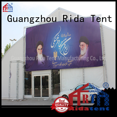 Rida tent long lasting big tents supplier for concert