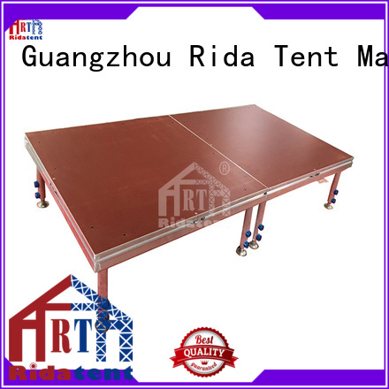 Rida tent music stage customized for fashion show