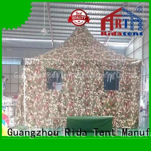 Rida tent army tent supplier for camping