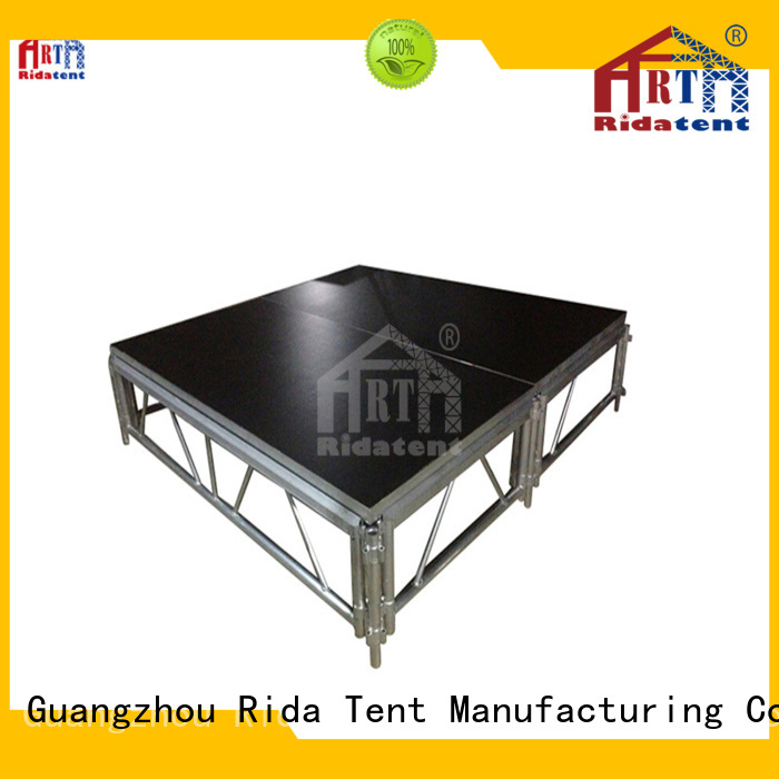 stable stage platform manufacturer for exhibition