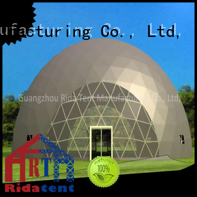 Rida tent geodesic dome tent wholesale for exhibition
