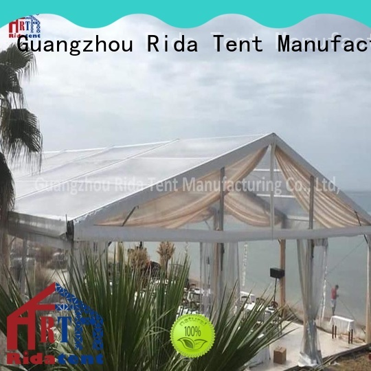 Rida tent clear tent inquire now for wedding