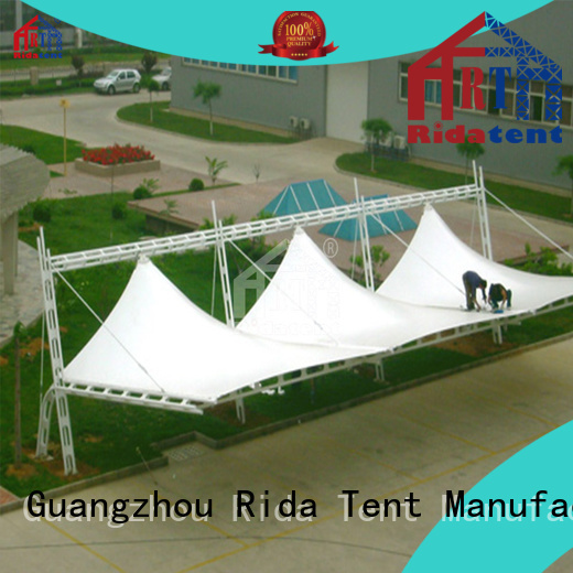 Rida tent shade canopy factory price for stage