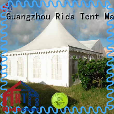 Rida tent elegant luxury tents wholesale for outdoor shops