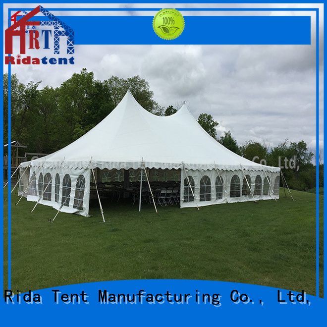 Rida tent quality aluminium tent pole wholesale for outdoor