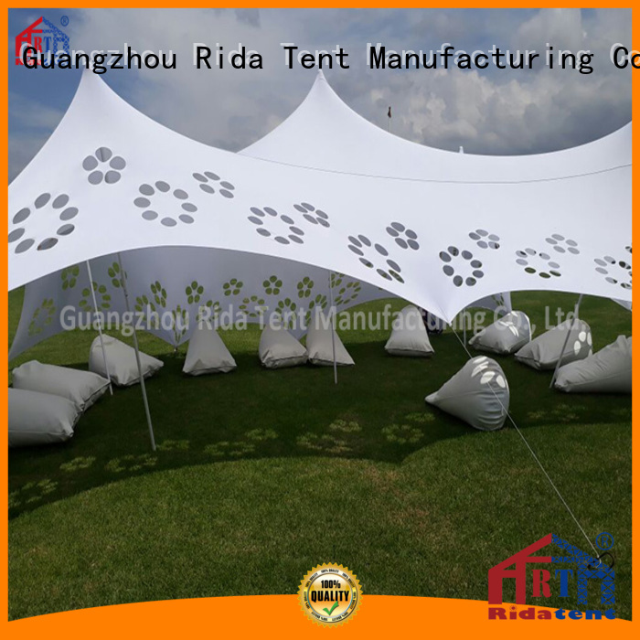 Rida tent practical aluminium tent pole wholesale for outdoor