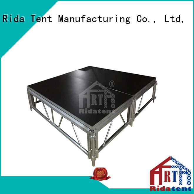 Rida tent portable stage directly sale for concert