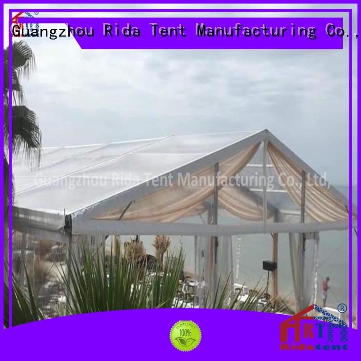 high quality transparent tent design for fashion show