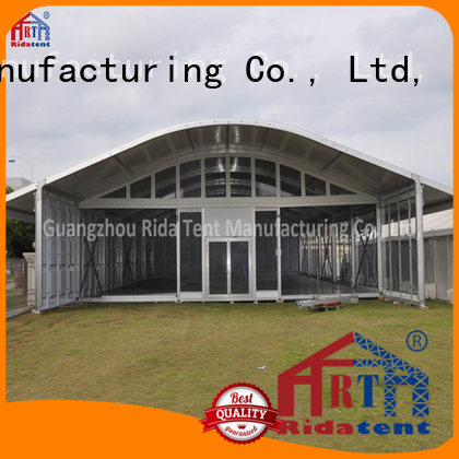 Rida tent fireproof storage tent factory price for trade show