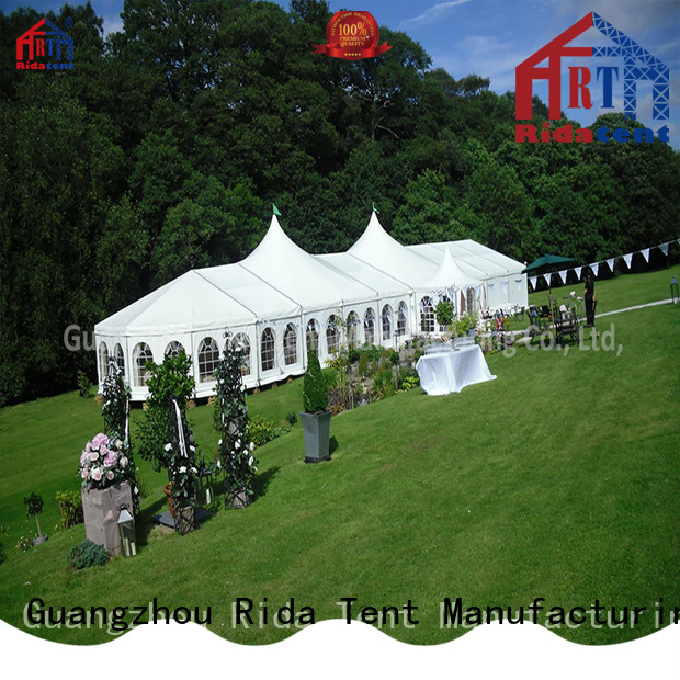 Rida tent large outdoor tent wholesale for trade show