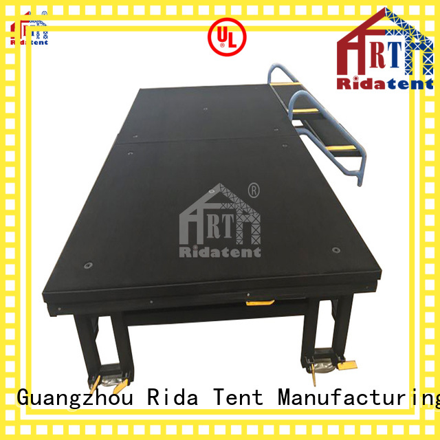 Rida tent lightweight small stage directly sale for outdoor concert