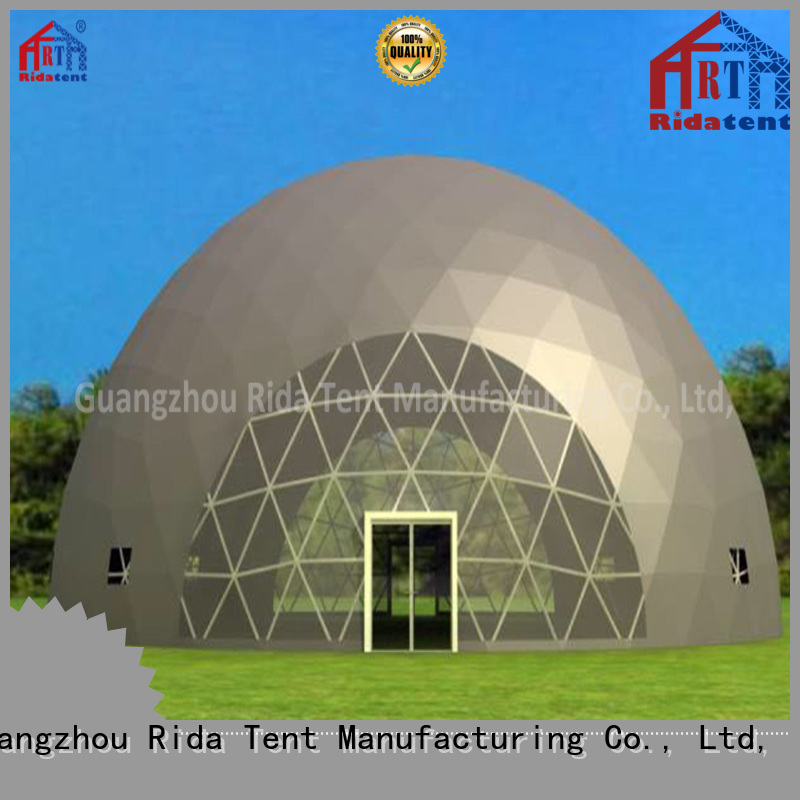 Rida tent geodesic tent supplier for production show