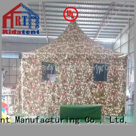 durable army tent supplier for camping
