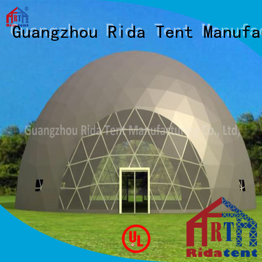 Rida tent professional geodesic dome tent wholesale for fair