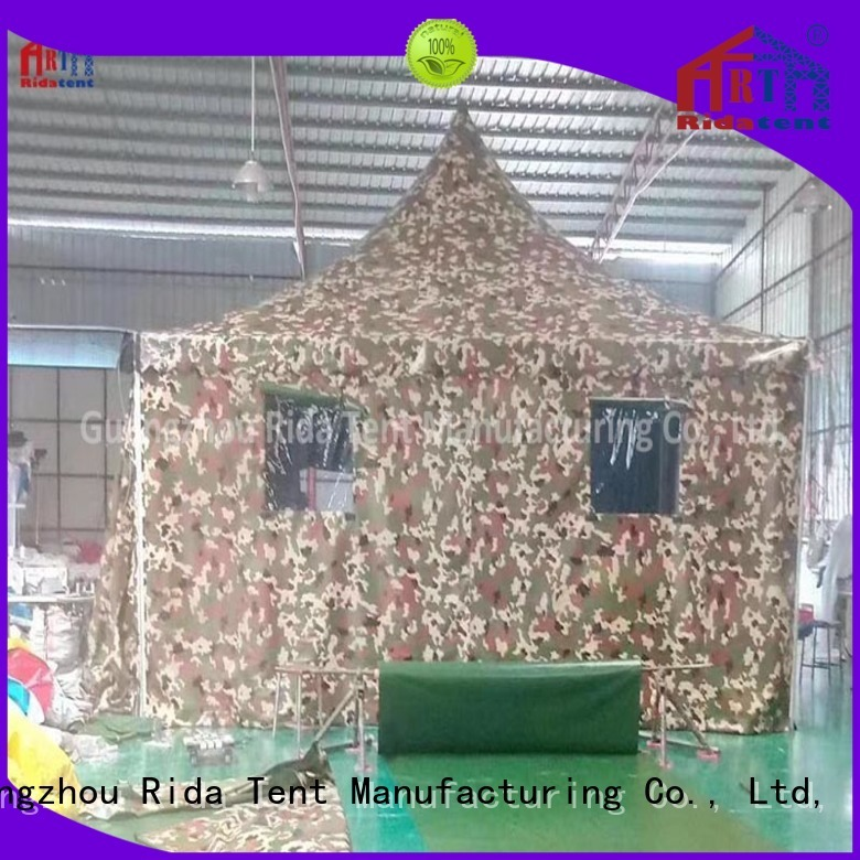 Rida tent army surplus tents supplier for activity