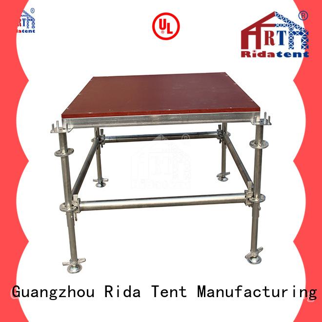 Rida tent tough stage platform wholesale for party