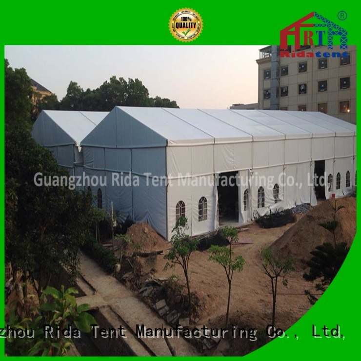Rida tent uv resistant large tent supplier for exhibition