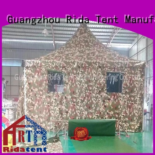 Rida tent reliable army tent wholesale for activity