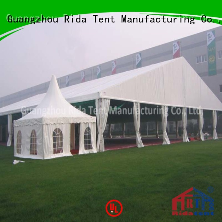 Rida tent frame tent with good price for exhibition
