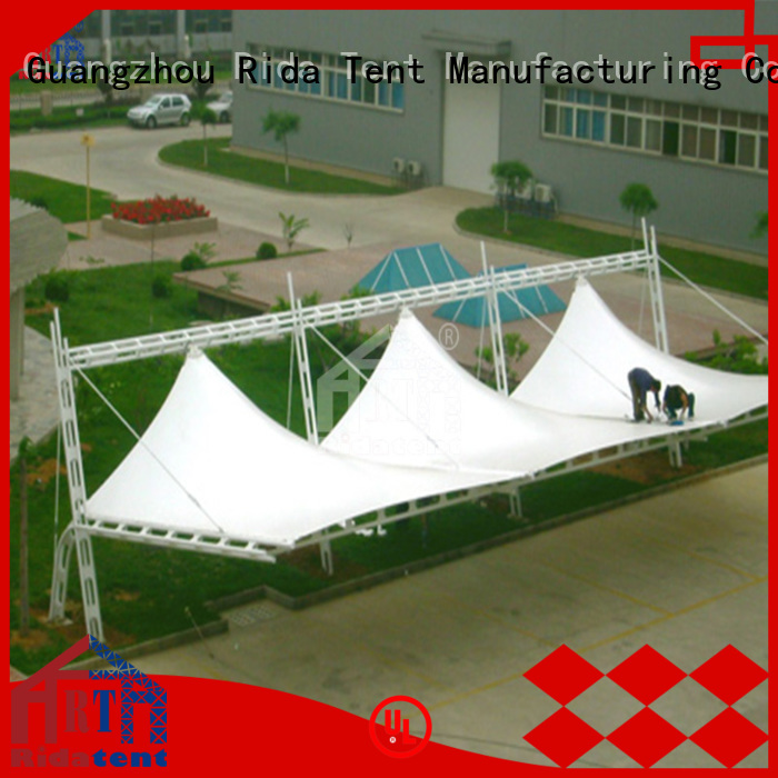 Rida tent long lasting membrane structure on sale for stage