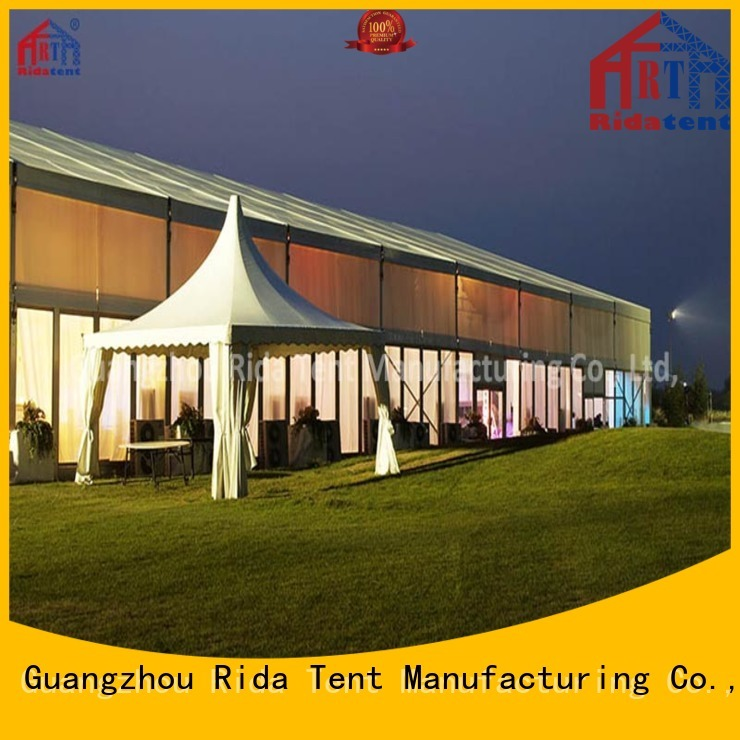 Rida tent waterproof party tent manufacturer for outdoor
