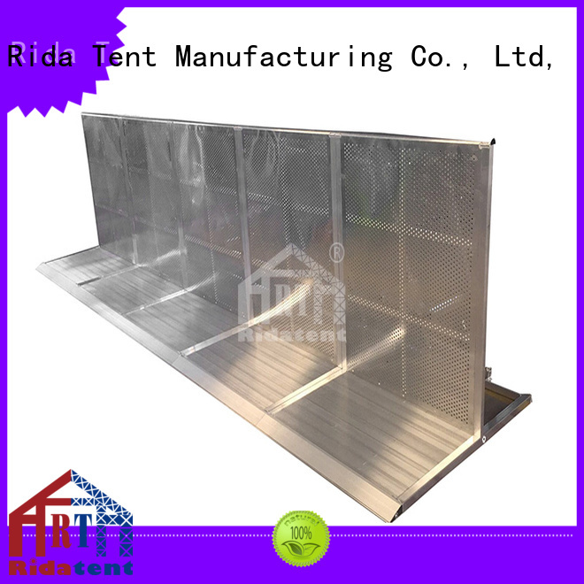 Rida tent safety safety barrier directly sale for sport event