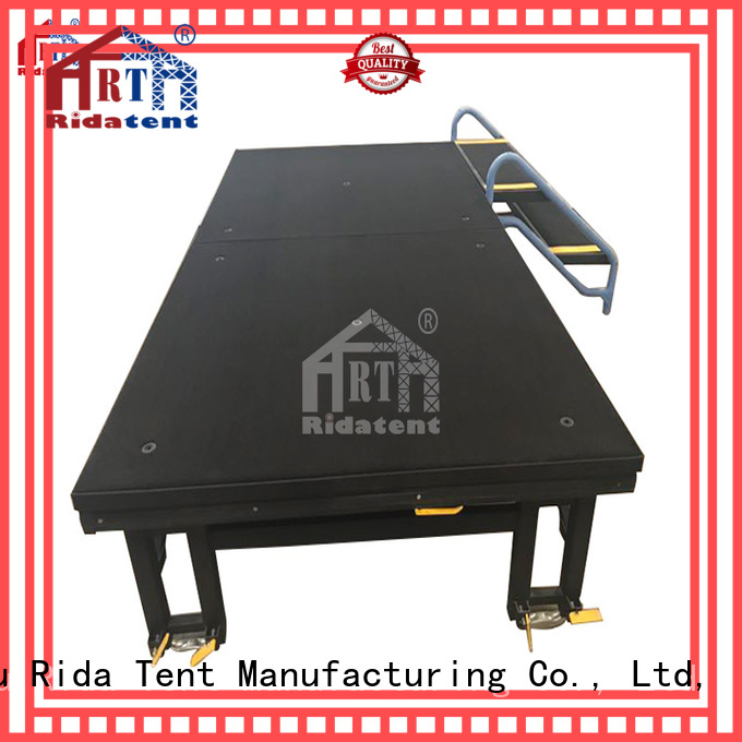 Rida tent movable small stage manufacturer for indoor event