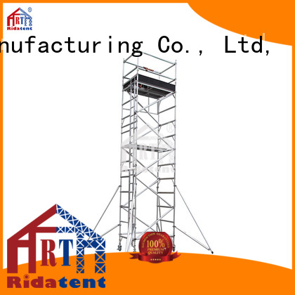 safe aluminium scaffold tower factory for building